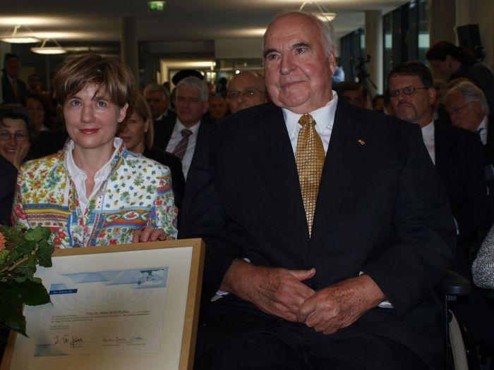 Helmut Kohl mit seiner zweiten Ehefrau Maike Kohl-Richter, 2009